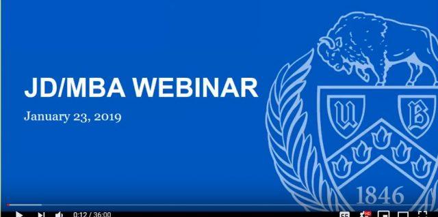 JD/MBA webinar presentation title screen