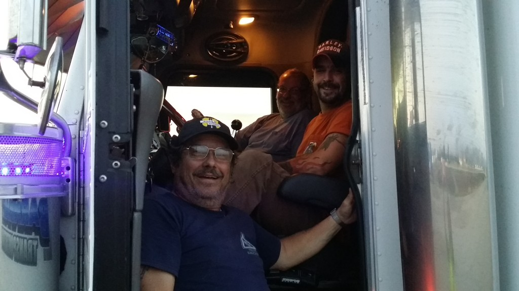 Our awesome drivers, Art, Dan and Eric.