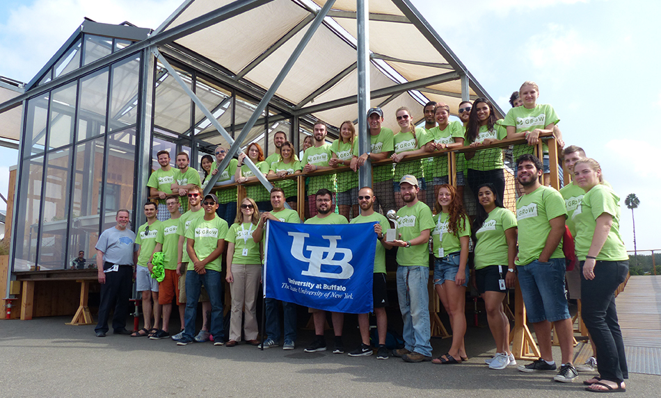 UB GRoW Home wins 2nd place at Solar Decathlon 2015