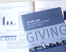 Report Card on Charitable Giving in Erie County