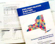 State-County Relations in New York: Key Partnership Issues