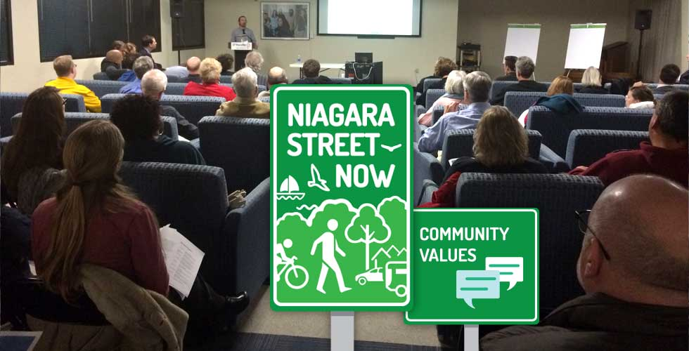 Niagara Street Now Stakeholder Meeting, December 2015