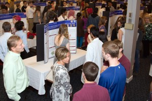 ITEST Student Capstone Event; Faculty; High School Students; Poster Session; Center for Tomorrow; UB North Campus; Jacobs School of Medicine and Biomedical Sciences; University at Buffalo; 2016