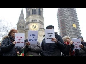 Berliners refusing to be divided after the 12/19 Christmas market attack