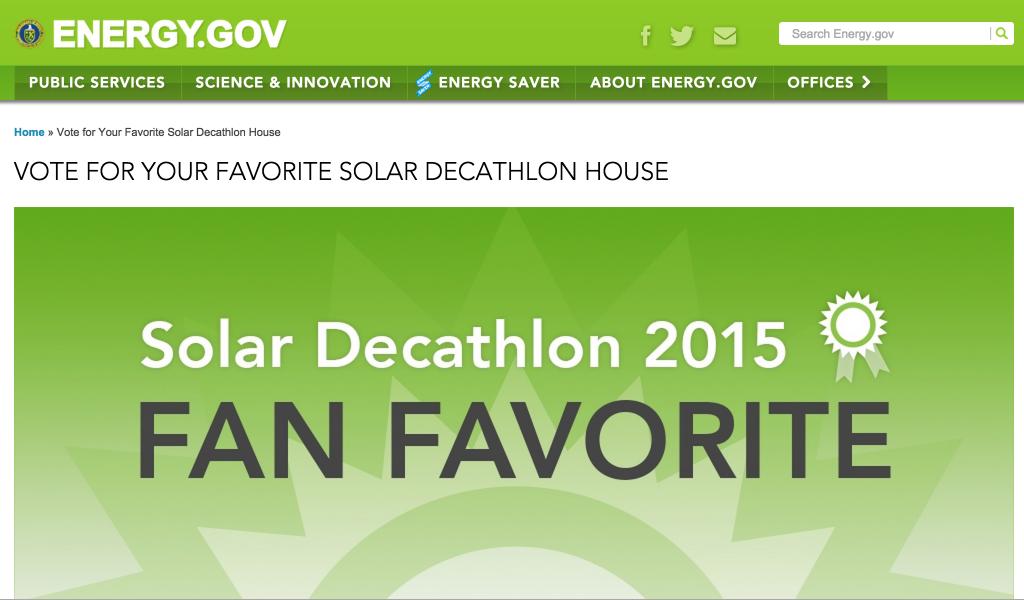 Screenshot of FanFavorite Website
