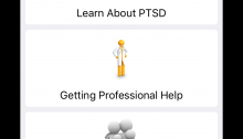 Screen Capture from PTSD Test