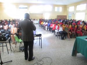 Alerta Joven Graduation in Batey Lecheria